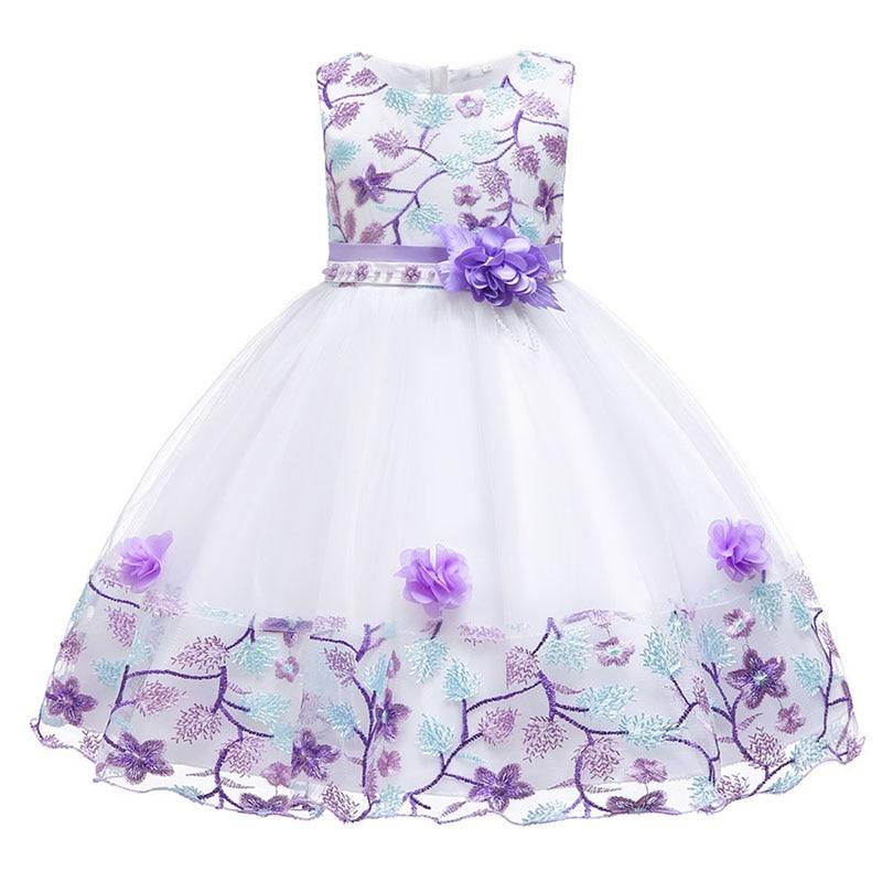 984c1a907 Berngi vestidos de la princesa 2018 nuevo Color estampada sin mangas  vestidos de fiesta ropa de