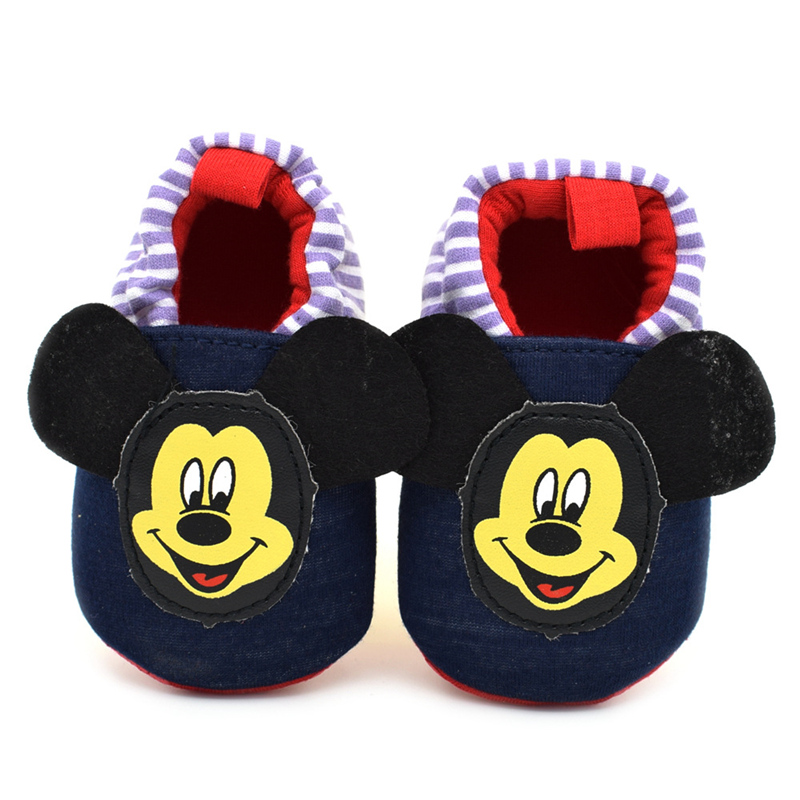 2017Cartoon toddler baby shoes flower print new born baby cute cack first walkers Soft Sole baby