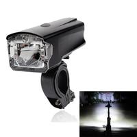 LEADBIKE USB Rechargeable LED Bicycle Headlight Anti Glare Super Bright 4 Modes Front Handlebar Bike Light