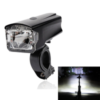 LEADBIKE USB Rechargeable LED Bicycle Headlight Anti Glare Super Bright 4 Modes Front Handlebar Bike Light