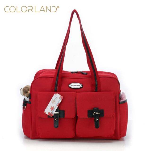 Colorland Baby Bag Designer Diaper High Quality Ny Bags For Mummy With Capacity Handbag