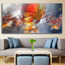 Artist modern painting abstract Color World wall art canvas famous paintings reproduction oil on
