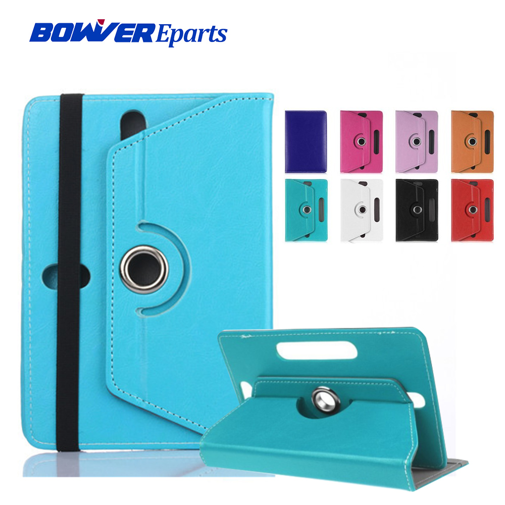 Rotating Cover For Digma Optima 7013 TS7093RW 7552M 3G PS7165MG 7700T 4G PS1127PL 7507 4G CS7113PL 7 Inch Tablet Pu Leather Case