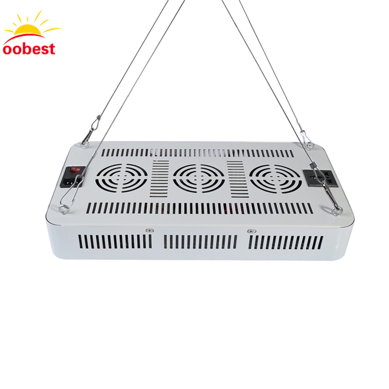 oobest Grow LED 2000W 1200W 1000W 600W 300W Double Chips Grow Light Fitolampa Full Spectrum for indoor plants Aquarium Growing best led grow light 600w 1000w full spectrum for indoor aquario hydroponic plants veg and bloom led grow light high yield