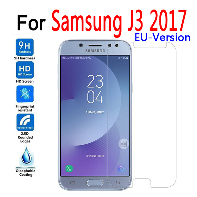 Tempered Glass For Samsung Galaxy J3 2017 Pro EU-Version Film Screen Protector For Samsung Galaxy J330 SM-J330F J3 Prime Glass