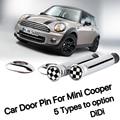 Pino de trava da porta do carro acessórios interior para Mini Cooper S one clubman countryman R55 R56 R57 R58 R59 R60 R61 F56