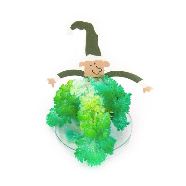 2017 Magically Grow Elf Trees DIY Magic Growing Paper Santa Claus Tree Japanese Christmas Gifts Novelty Wizard Kids Toys 2PCS