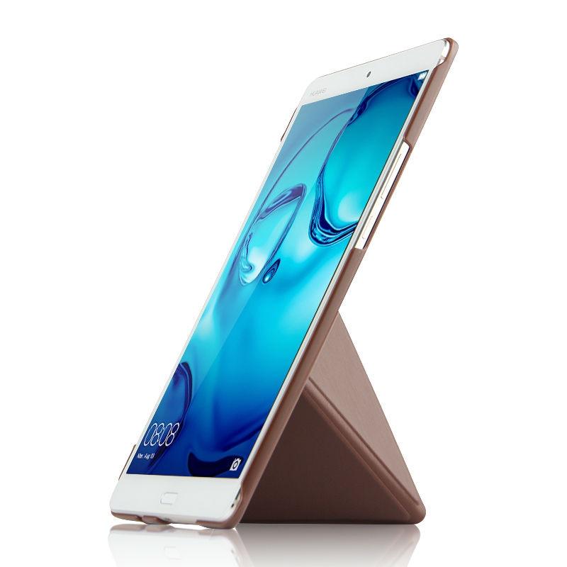 Caja de la PU para Huawei MediaPad M3 cubierta elegante Tabletas de - Accesorios para tablets - foto 5