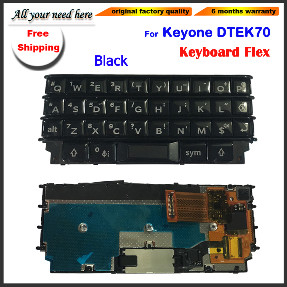Keyboard For BlackBerry Keyone Dtek70 Keypad Housing Back Battery Cover Door Back Case Cover For Keyone Keypad DTEK 70