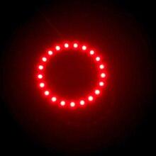 1 шт. х белый желтый синий зеленый красный 100 мм 3528 30 SMD Автомобильный светодиодный ангельские глазки Halo кольцевой светильник автомобильный светильник