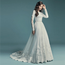 Verngo Sleeved Mermaid Wedding Dress Boho Elegant Soft Satin Gowns Sexy Lace Appliques Bride Detachable Over skirt