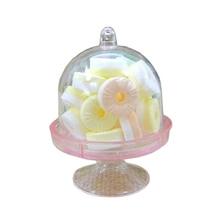 Горячая 12x мини торт стенд кекс коробка Свадебная вечеринка пластиковая коробка для конфет