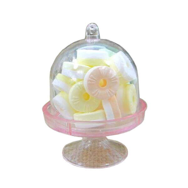 Hot Sale 12x Mini Cake Stand Cupcake box Wedding Party Plastic Candy Box