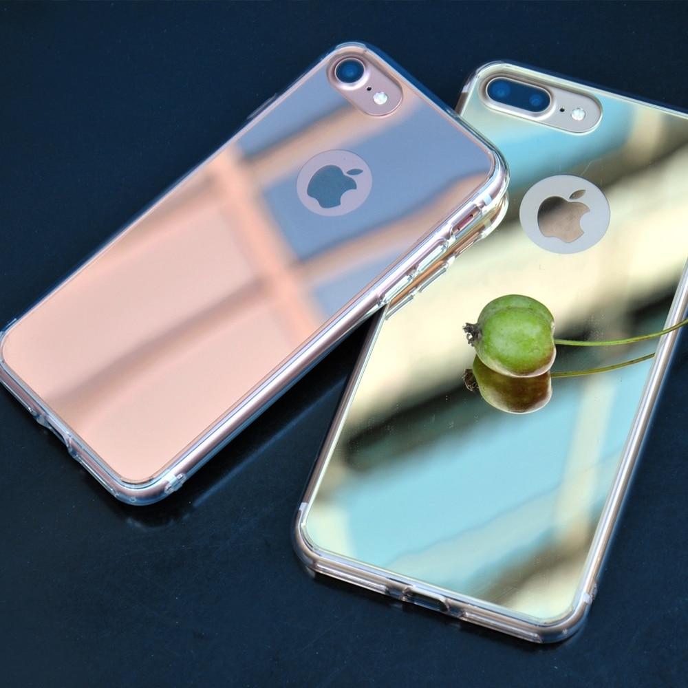 Rose Gold Mirror Iphone S Case