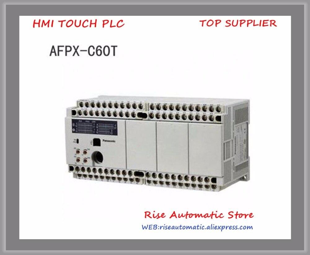 Nouveau Original AFPX-C60T AFPX-C60TD AFPX-C60P AFPX-C60R PLC AC100-240V 32 entrée CC points 28 Relais sortie points FP-X Unité De Contrôle