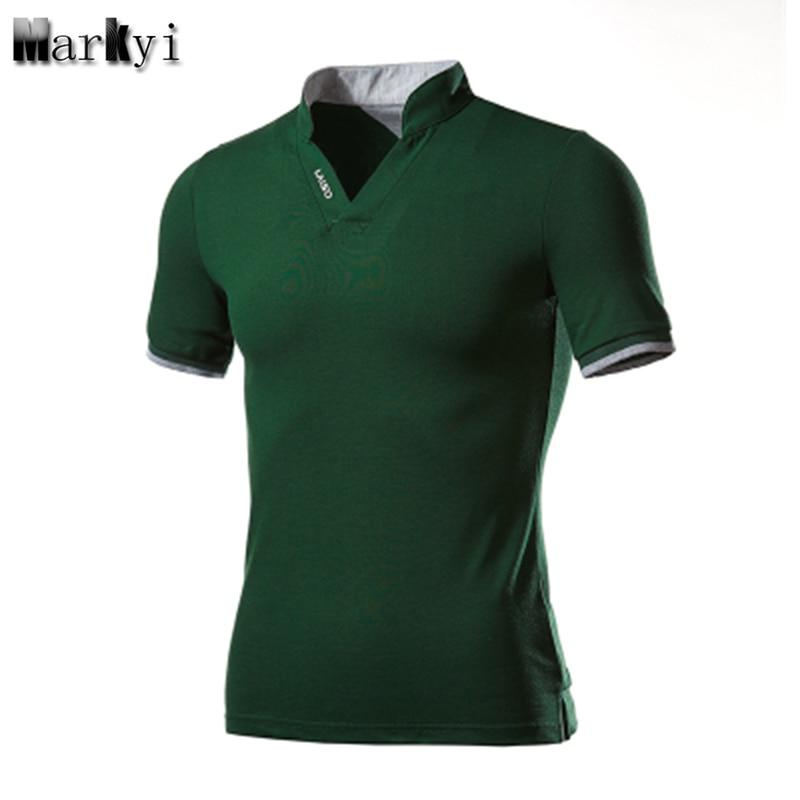 Markyi plus size 5xl short sleeve turn down collar mens for Good quality mens dress shirts