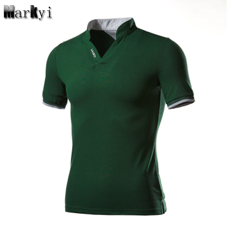 MarKyi plus size 5xl Short Sleeve Turn-Down Collar Mens   Polo   Shirts Good Quality Summer Camisa   Polo   Men Slim Fit