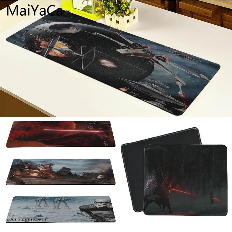 MaiYaCa Винтаж Cool Звездные войны battlefront геймер играть коврики для мыши Размеры для 18x22 см 20x25 см 25x29 см 30x90 см 40x90 см