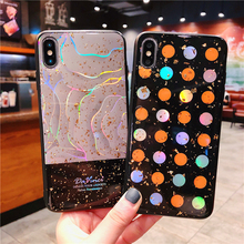New Luxury Wear-resistant anti-slip fashion silicon ecover case for iphone X XR XS MAX 6 6S 7 plus 8plus personality phone cases