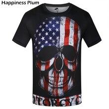 Usa Tshirt United States T-shirt America T Shirt Men/women Skull Hip Hop Tshirt 3d Death Punk T Shirt Men Fitness Gothic T-shirt
