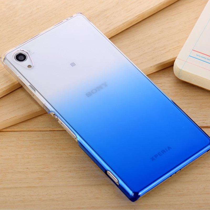 Ultra Thin Gradient Soft TPU <font><b>Case</b></font> For Sony <font><b>Xperia</b></font> XA XZ <font><b>1</b></font> X Performance Dual Full Cover For Sony XA1 Ultra XA2 XA3 XZ4 XZ2 Capa image