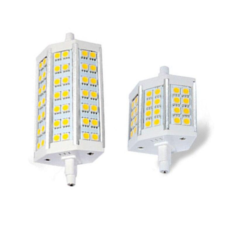 1x R7S LED Lamp 5050 Smd 78mm/118mm 12W 20W Corn Bulb Spotlight Replace Halogen Floodlight LED Light