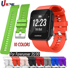 Sport Silicone Watch Band Strap for Garmin Forerunner 35 30 Smart Watch Bracelet Colorful Replacement Wristband Watchband