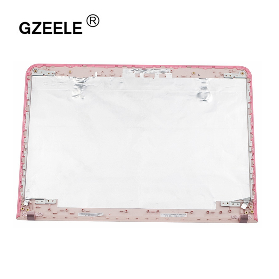 GZEELE New for sony SVE14 SVE14A SVE14AE13L SVE14AJ16L SVE14A27CX laptop lcd back cover top case A shell fit touchscreen model ...