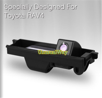 Car Rearview Back up Camera CCD for Toyota RAV4 Waterproof Car Rear View Camera HD Night Vision 170 Degree Angle free shipping