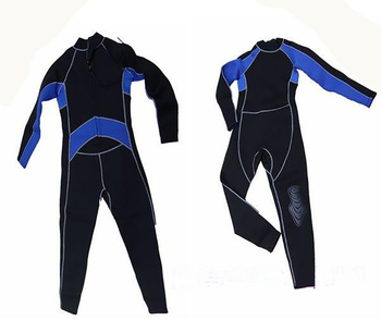 Hot 3mm high-grade diving suit diving wetsuit man conjoined jellyfish clothes to warm the cold winter swimming suit
