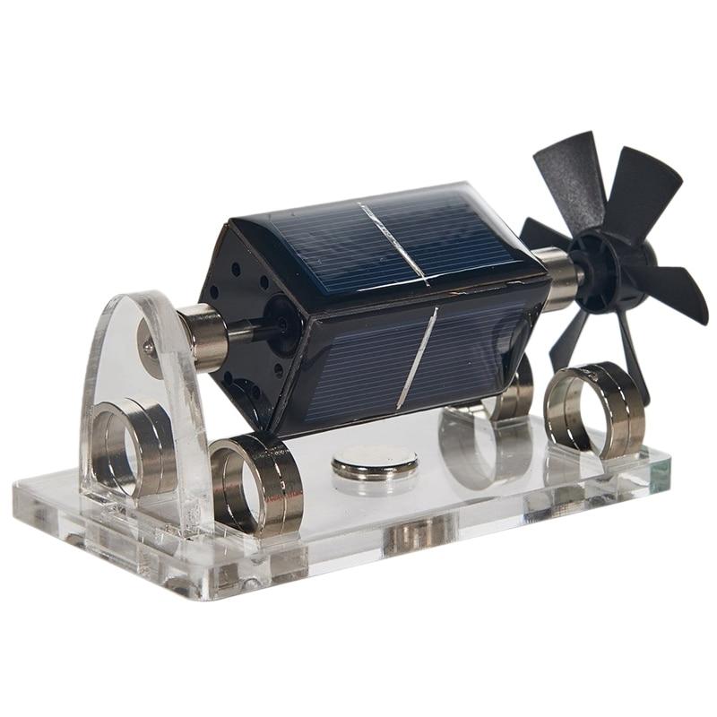 Modelo de levitação magnética solar quente levitando