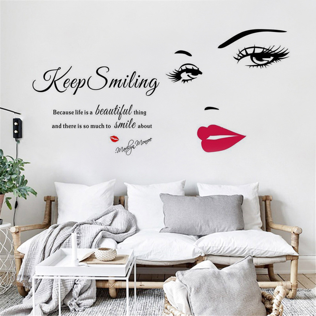 2019 New Modern Details about 2 Pack Home Wall Stickers