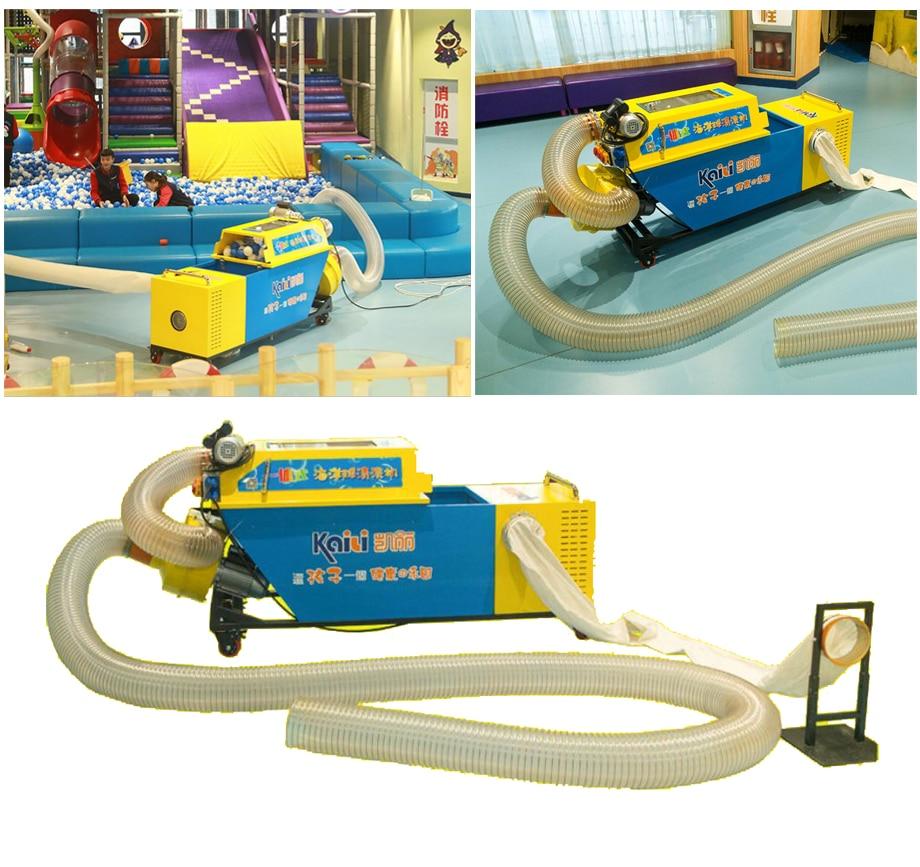 ball pool pit dry washing ball machine plastic ocean ball indoor playground ball cleaning machine YLW INA18106