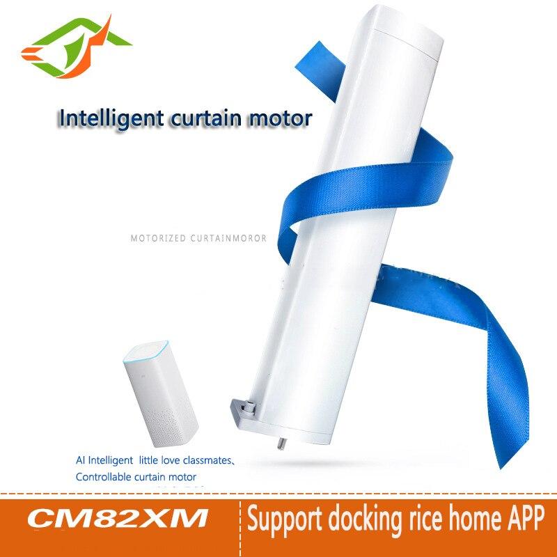 WIFI elektrische vorhang motor, mijia app/fernbedienung voice control DC motor system ultra-ruhigen 100-240 V, smart home UNS stecker
