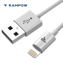 RAMPOW MFi Certified Lightning Cable 5V/2A USB Cable for iPhone Cable Sync Wire Charging Cord for iPhone XS Max/X/8/7,for iPad