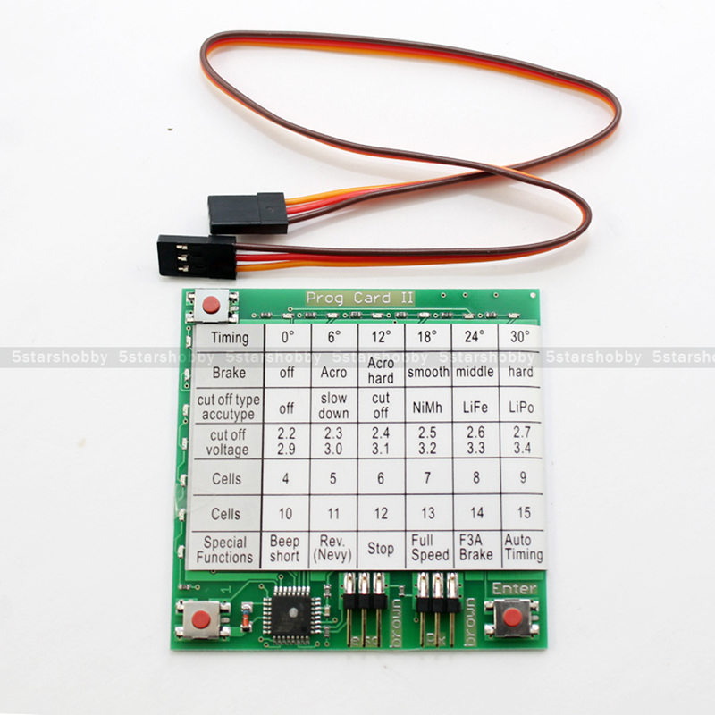 Buy Cheap Discount YPG ESC Speed Controller Program Card for YPG