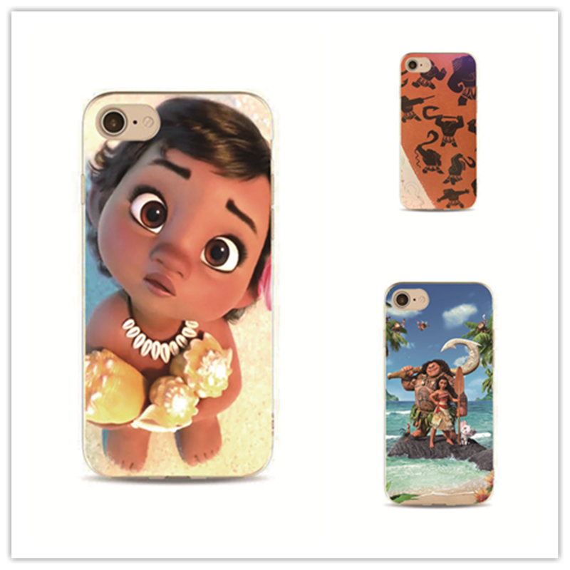 Moana Waialiki Phone Case Cover For IPhone 7 Plus 4 4s 5 5s 5c Se 6 6s IPhone7 For Samsung S5 S4