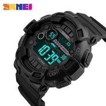 SKMEI Brand Men Sports Watches 50M Waterproof LED Digital