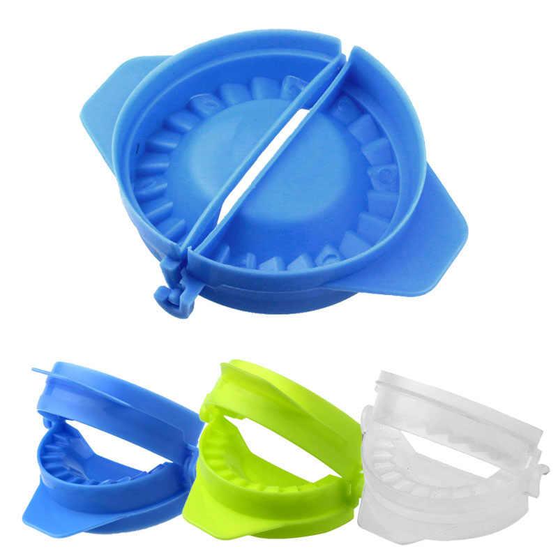 Nowy DIY kluski narzędzie Top dobrej jakości kluski Jiaozi Maker urządzenie łatwe kluski formy klipy kuchenne narzędzia akcesoria 5.28