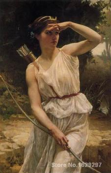 wall art modern Diana Hunting Guillaume Seignac Paintings Hand painted High quality