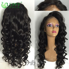 10A Best Hair 150 Density Virgin Malaysian Thick Curly Glueless Full Lace Human Hair Wigs Human Hair Lace Front Wigs Black Women