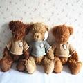 Encantadores Juguetes De Peluche Osos de Peluche 38 cm tamaño sentado 28 cm mini oso de peluche oso de peluche juguetes de peluche de san valentín regalo de cumpleaños