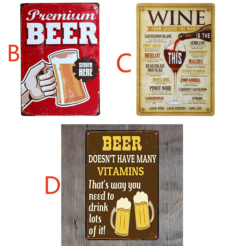 Man Cave 2 Sizes Available ideal for pub NO TOOLS Loaned Here METAL SIGN bar