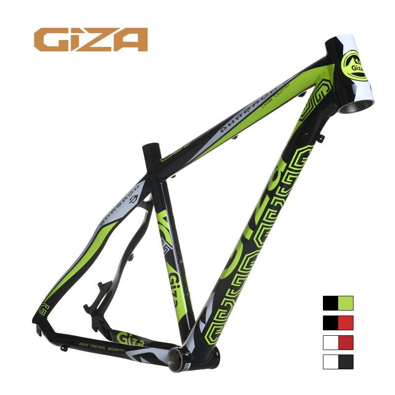 Giza pharaoh 3 MTB Bicycle 7005 Aluminum Alloy Frame 26 wheel 17 inch BB92mm 1.5T Taper giza ghost 3 mtb bicycle 6061 aluminum alloy frame 26 wheel 16