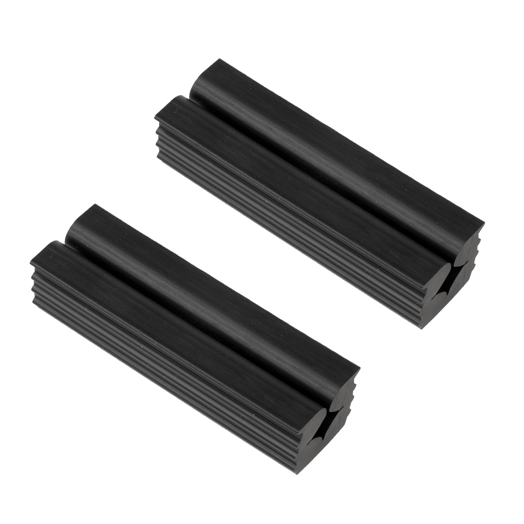 2 Pcs Premium Quality Rubber Vise Clamp For Golf Club Shafts Regripping Golf Club Grip Vice Clamps Golf Shaft Protector