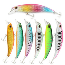 Купить с кэшбэком Fish Lures 60mm 5g Fish Minnow Smart Lure Jerkbait Wobblers Fresh Saltwater Trout Lure Minnow Fishing Lures