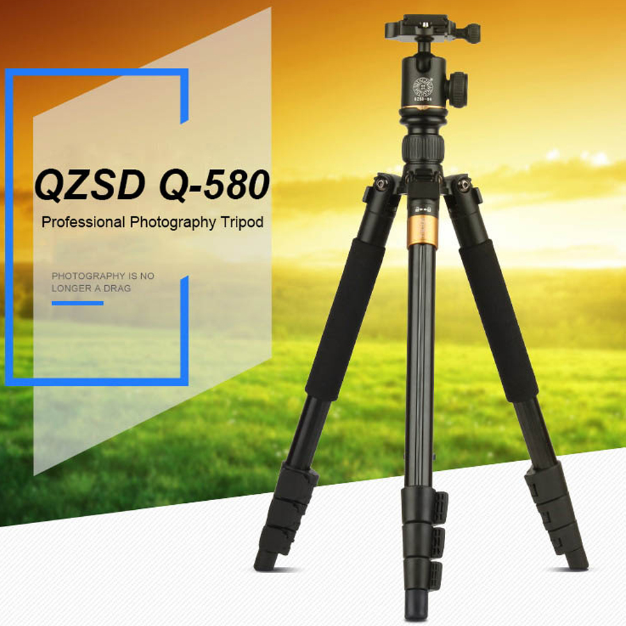 New Fashion 57-inch Professional Portable Travel Tripod Monopod with Ball Head Photography Tripod Stand For DSLR Camera Load 6kg 4pcs new for ball uff bes m18mg noc80b s04g