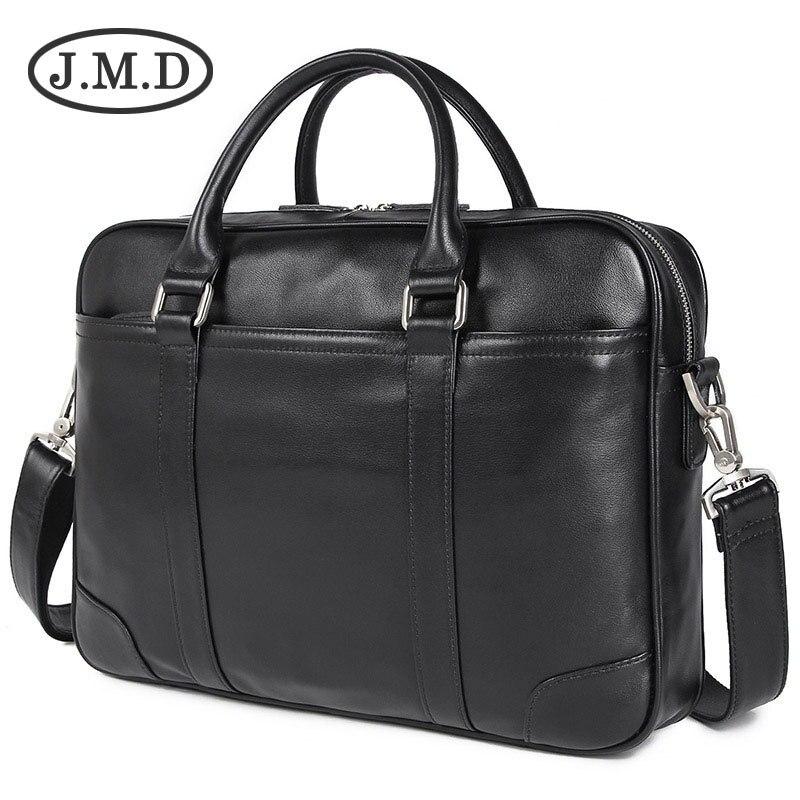 JMD Genuine Leather Laptop Bag Top Handle Bag Mens Handbag For Buisness 7349JMD Genuine Leather Laptop Bag Top Handle Bag Mens Handbag For Buisness 7349