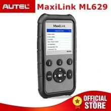 Autel ML629 OBD2 сканер автомобильный двигатель передачи ABS SRS диагнозов Инструмент Полный OBD 2 Функция и DTC поиска PK ML619 AL619