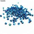 Venda Popular Brilhante Cor Azul 720 pcs 3mm Bicone Áustria Grânulos De Cristal de Vidro Solta Pérolas Spacer Bead para DIY Fazer jóias